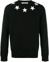Givenchy star appliqué sweatshirt - men - Polyester/Cotton - S