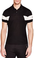 Moncler Color Block Slim fit Polo Shirt