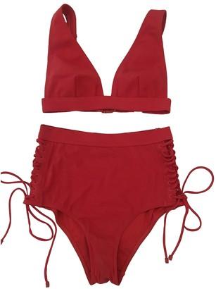 Zimmermann Red Cotton - elasthane Swimwear for Women