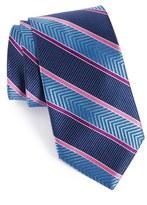 Nordstrom Men's Chevron Stripe Silk Tie