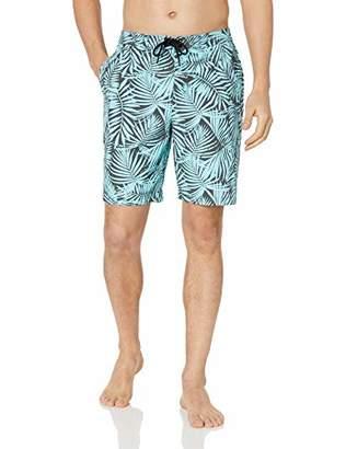 """28 Palms Men's 9"""" Inseam Cotton Nylon Swim Board Short"""
