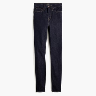 "J.Crew Petite 10"" highest-rise skinny jean in rinse wash"
