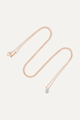 Anita Ko 18-karat Rose Gold Diamond Necklace - one size