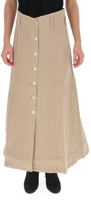Nanushka Roja A-Line Maxi Skirt