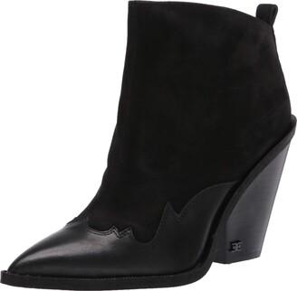 Sam Edelman Women's Ilah Western Boots Mule