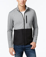 Alfani Men's Big and Tall Colorblocked Knit Jacket, Only at Macy's