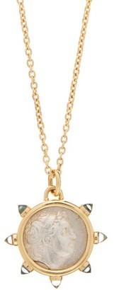 Dubini King Of Cappadocia Topaz & 18kt Gold Necklace - Gold Multi