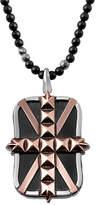 Stephen Webster Men's Silver & Rhodium Gemstone Necklace