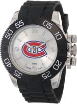 Game Time Men's NHL-BEA-MON Beast Montreal Canadians Round Analog Watch