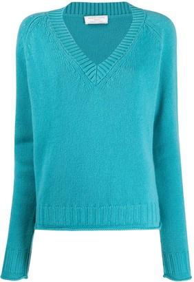 Societe Anonyme Leen chevron knit jumper