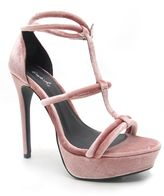 Qupid Avalon strappy platform sandal