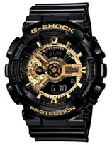Thumbnail for your product : G-Shock Men's Analog Digital Black Resin Strap Watch