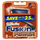Gillette Fusion Power Shaving Blade Refill 8 pack