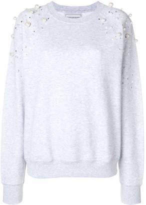 Couture Forte Dei Marmi embellished sweatshirt