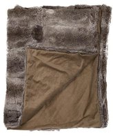 Adrienne Landau Fur Throw Blanket
