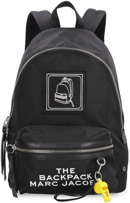 Marc Jacobs Embroidered Patch Nylon Backpack