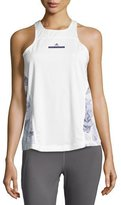 adidas by Stella McCartney Run Adizero Tank Top, White