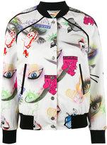 Kenzo Visage bomber jacket - women - Polyamide/Polyester/Spandex/Elastane - XS