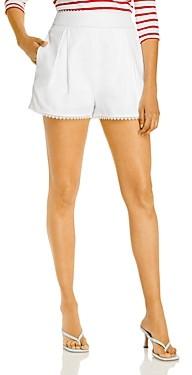 Aqua Lace Trim Shorts - 100% Exclusive