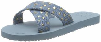 Flip*Flop Women's crossdenim Sandal