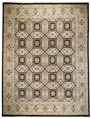 Solo Rugs Traditional Oushak Hand-Knotted Wool Area Rug