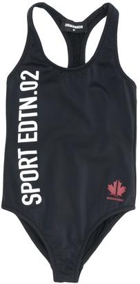 DSQUARED2 Logo-Print Swimsuit