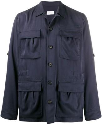 Brioni Boxy-Fit Shirt Jacket