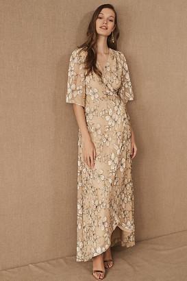 BHLDN Bloomsbury Dress By in Beige Size S