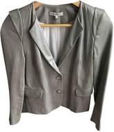 Sandro Metallic Leather Jackets