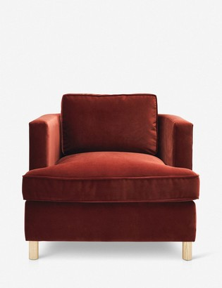 Lulu & Georgia Belmont Accent Chair, Paprika By Ginny Macdonald