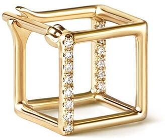 Shihara Diamond Square Earring 7 (01)