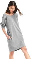 Gap French terry sweatshirt dress