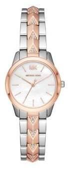 Michael Kors Runway Mercer Two-Tone Stainless Steel Watch