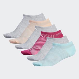 adidas Superlite Adiangle No-Show Socks 6 Pairs