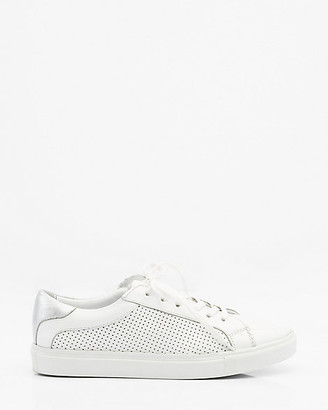 Le Château Perforated Leather Lace-Up Sneaker