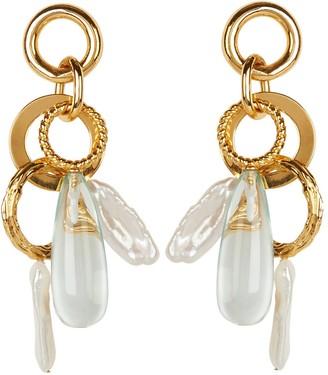 Lizzie Fortunato Pergola Drop Earrings