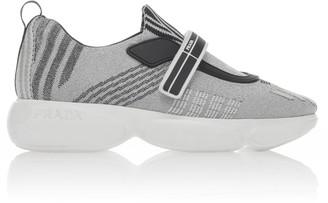 Prada Cloudbust Nylon Slip On Sneakers