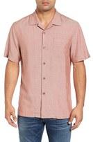 Tommy Bahama 'Ocean' Oxford Silk Camp Shirt