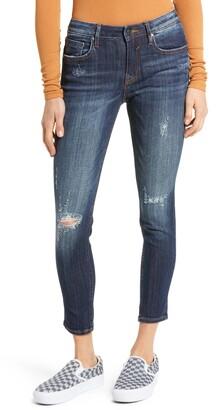 Vigoss Jagger Destruction Crop Skinny Jeans