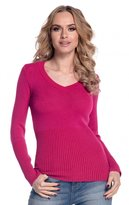 Glamour Empire. Womens Warm Stretch Knit Sweater Top Jumper Long Sleeve. 906