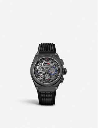 Zenith 21 49.9000.9004/78.R782 Defy El Primero 21 black ceramic automatic watch