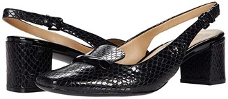Naturalizer Kendry (Black Snake Print Leather) Women's Shoes