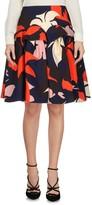 DELPOZO Knee length skirts - Item 35327277