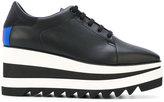 Stella McCartney Sneak-Elyse platform sneakers - women - rubber/Velvet - 35
