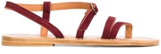 K. Jacques Multi Strap Sandals