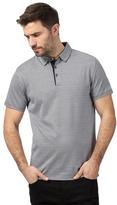 J By Jasper Conran Big And Tall Navy Triangle Textured Polo Shirt