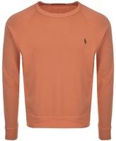 Ralph Lauren Crew Neck Sweatshirt Orange