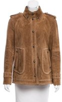 Tod's Suede Perforated Jacket