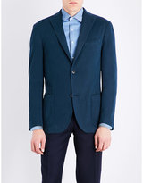 Boglioli Tailored-fit Stretch-cotton Jacket