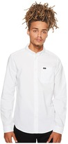 RVCA That'll Do Oxford L/S Men's Long Sleeve Button Up
